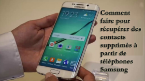 Samsung Contacts Disparu