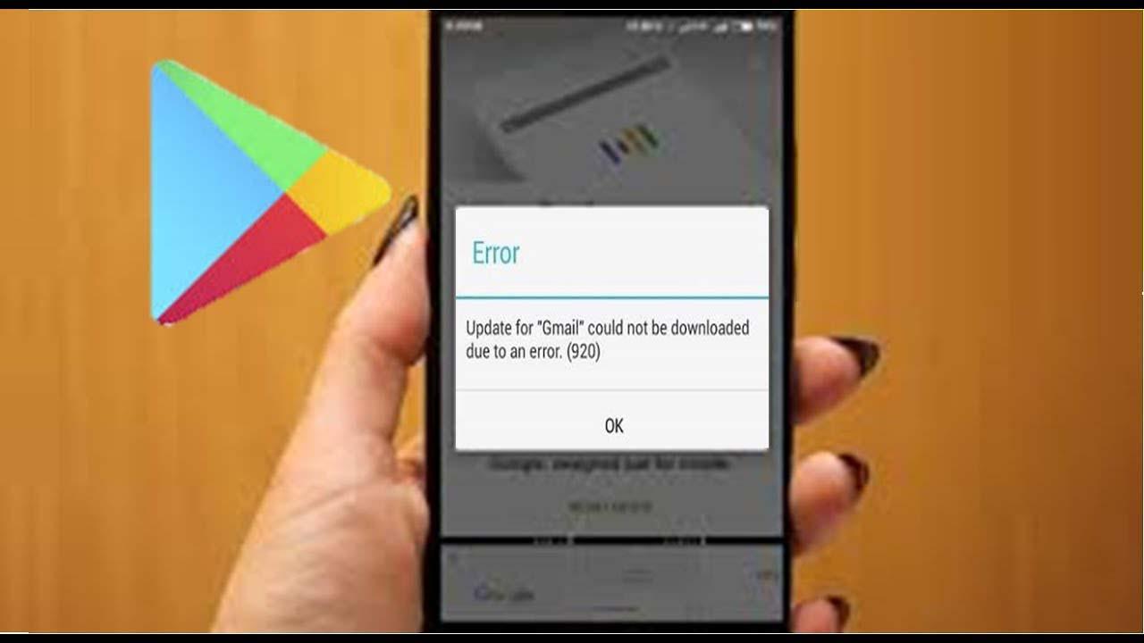réparer l'erreur 920 dans Google jouer Store