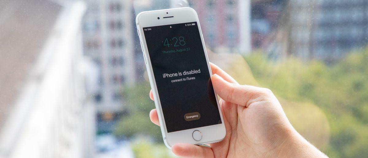 récupérer des photos d'un iPhone désactivé