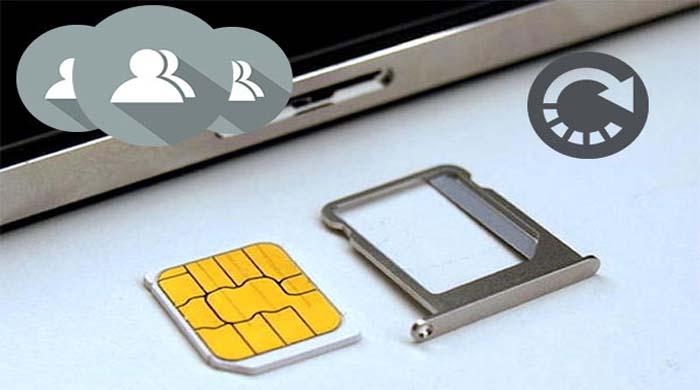 récupérer des contacts supprimés de la carte SIM Android