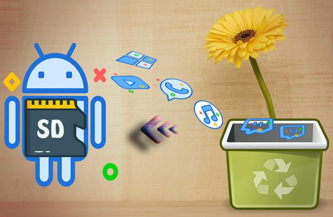 récupérer des fichiers supprimés de la carte SD Android